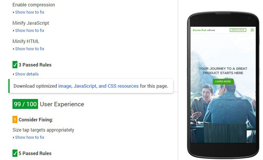 reduce image size from google