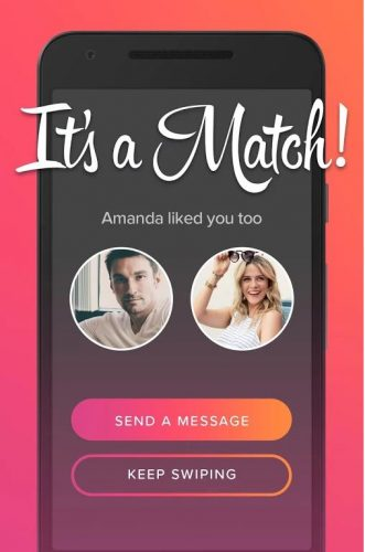 How have other dating apps responded to tinder